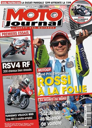 Moto Journal N°2141 Du 23 au 29 Avril 2015