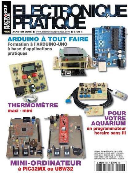 Electronique Pratique N°400 – Janvier 2015
