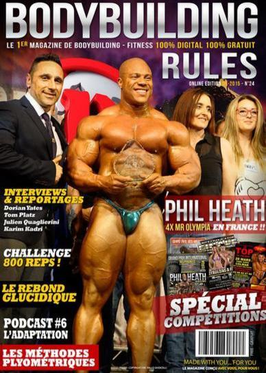 Bodybuilding Rules N°24 – Mai 2015