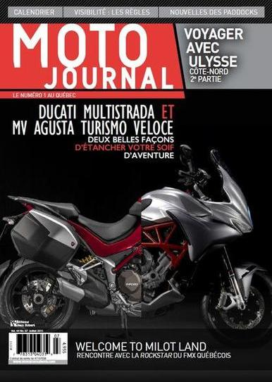 Moto Journal (Québec) – Juillet 2015