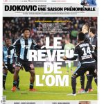 L'Equipe Du Lundi 23 Novembre 2015