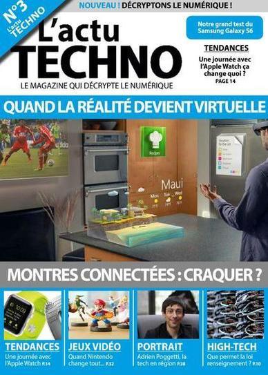 L'actu Techno N°3 – Mai 2015