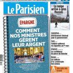 Le Parisien Du Mardi 6 Février 2018