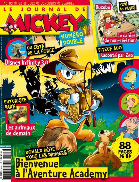 Le Journal de Mickey N°3297 Du 26 Aout au 1er Septembre 2015