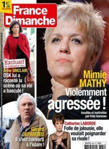 France Dimanche N°3578 Du 27 Mars au 2 Avril 2015
