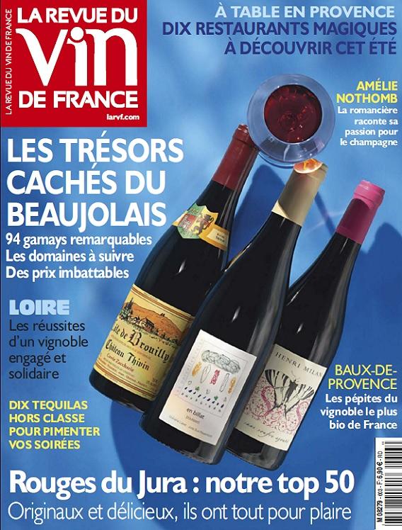 La Revue Du Vin De France N°603 - Juillet-Aout 2016