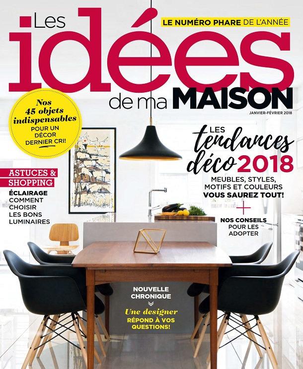 Les Idées De Ma Maison – Janvier-Février 2018