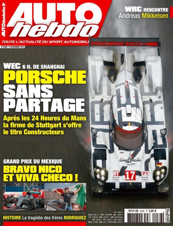 Auto Hebdo N°2036 Du 04 Novembre 2015