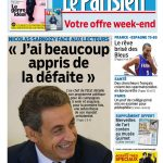 Le Parisien + Journal De Paris Du Vendredi 18 Septembre 2015
