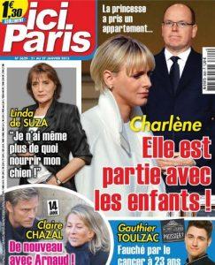 Ici Paris N°3629 Du 21 au 27 Janvier 2015