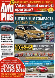 Auto Plus N°1373 - 26 Décembre 2014 au 1 Janvier 2015