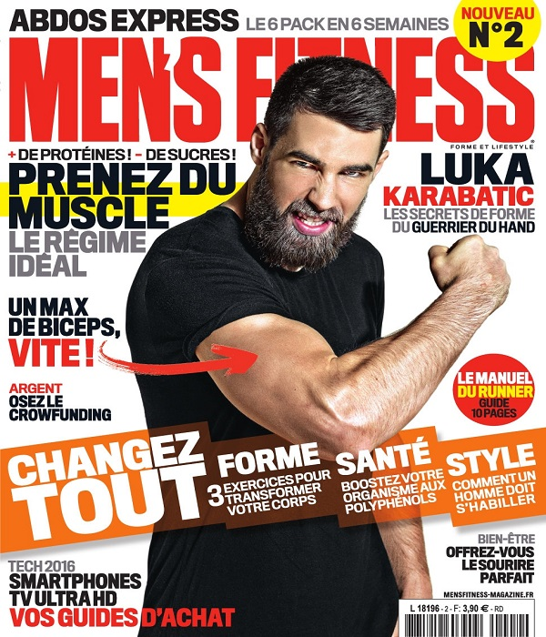 Men's Fitness N°2 – Avril 2016
