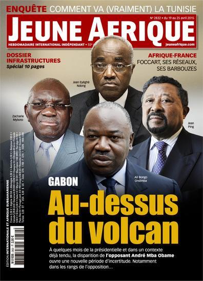 Jeune Afrique N°2832 Du 19 au 25 Avril 2015