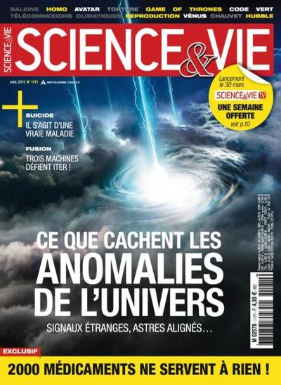 Science et Vie N°1171 – Avril 2015