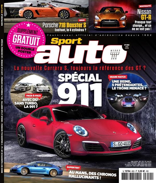 Sport Auto N°652 – Mai 2016
