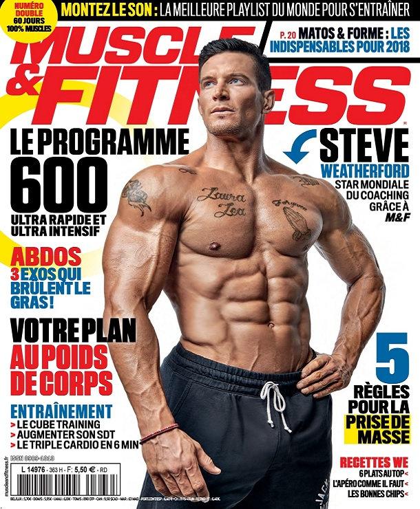 Muscle et Fitness N°364 – Janvier-Février 2018