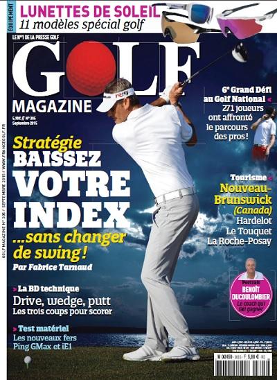 Golf Magazine N°305 – Septembre 2015