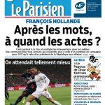 Le Parisien + Journal De Paris Du Jeudi 22 Octobre 2015