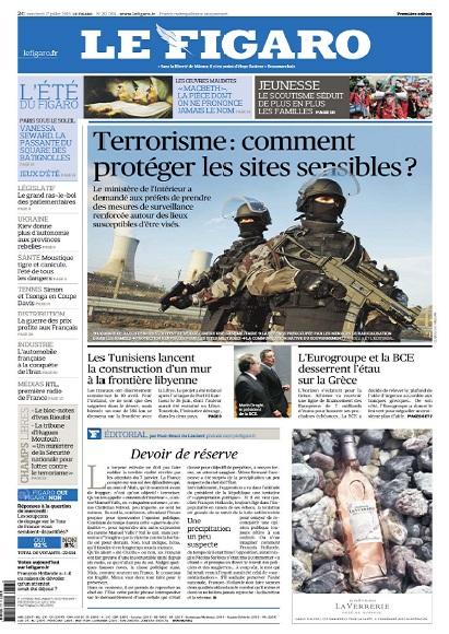 Le Figaro Week-End Du Vendredi 17 Juillet 2015