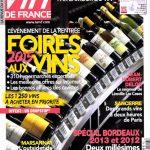 La Revue du Vin de France N°594 - Septembre 2015