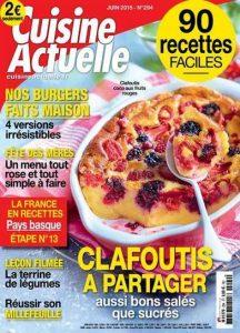 Cuisine Actuelle N°94 - Juin 2015