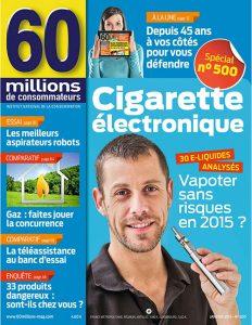 60 Millions De Consommateurs N°500 - Janvier 2015