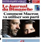 Le Journal Du Dimanche N°3697 Du 19 Novembre 2017