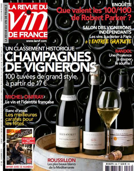 La Revue Du Vin De France N°596 - Novembre 2015