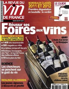 La Revue du Vin de France N°584 - Septembre 2014