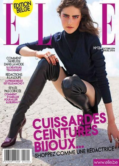 Elle Belgique N°134 – Octobre 2014