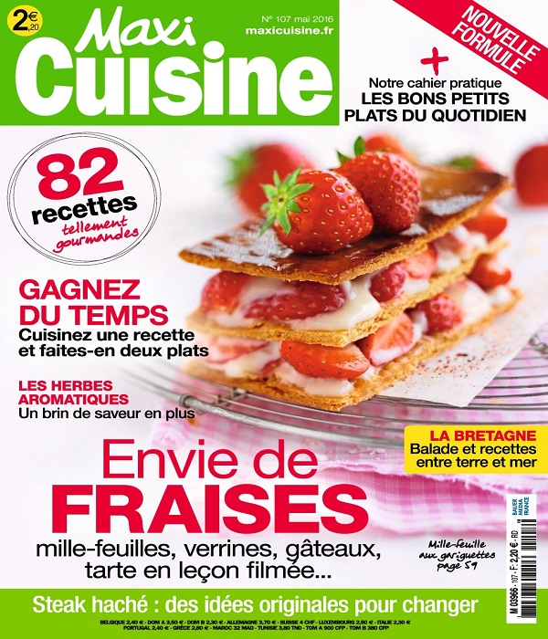 Maxi Cuisine N°107 – Mai 2016