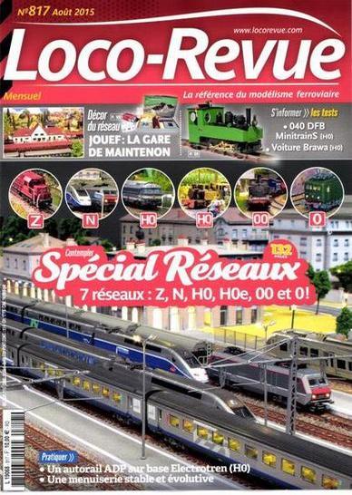 Loco-Revue N°817 – Aout 2015