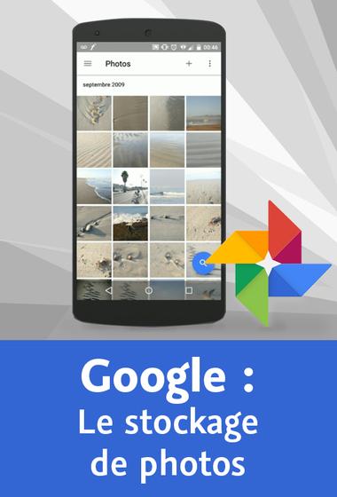 Video2barin – Découvrir le stockage de photos avec Google