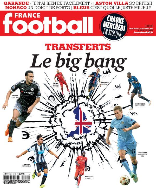 France Football N°3619 Du Mercredi 02 Septembre 2015