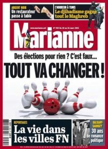 Marianne N°935 Du 20 au 26 Mars 2015