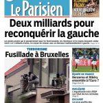 Le Parisien + Journal De Paris Du Mercredi 16 Mars 2016