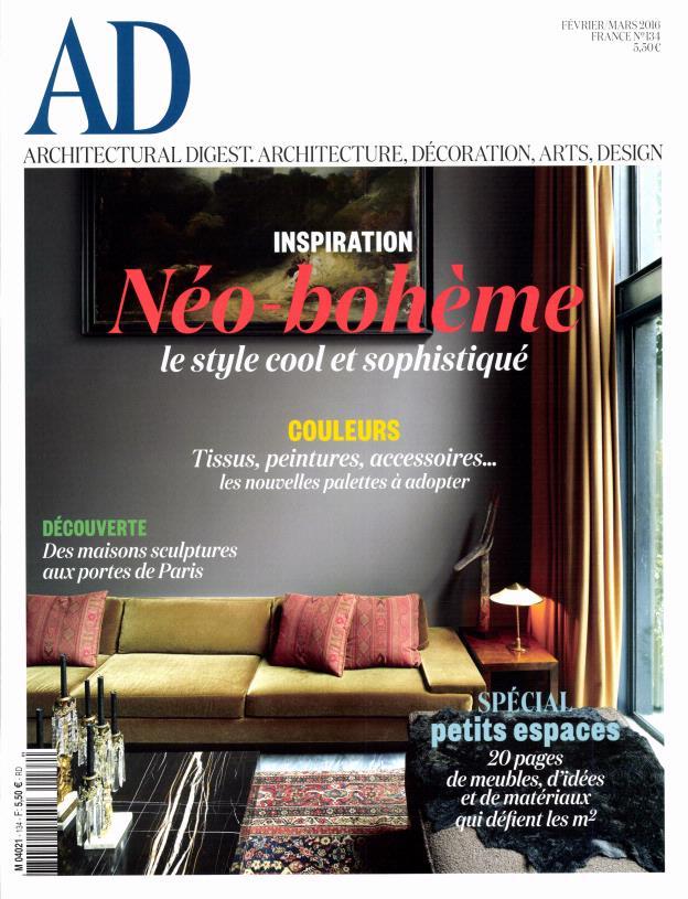 AD Architectural Digest N°134 – Février-Mars 2016