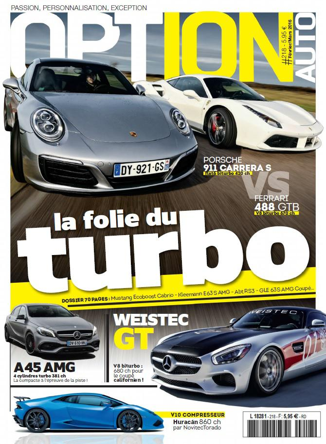 Option Auto N°218- Février-Mars 2016