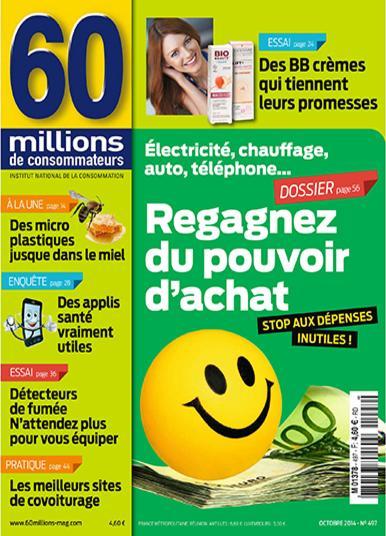 60 Millions De Consommateurs N°497