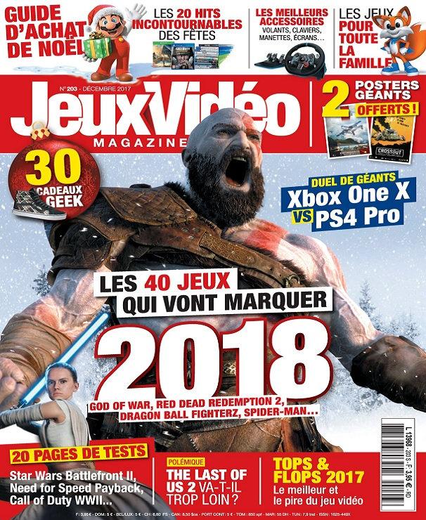 Jeux Vidéo Magazine N°203 – Décembre 2017