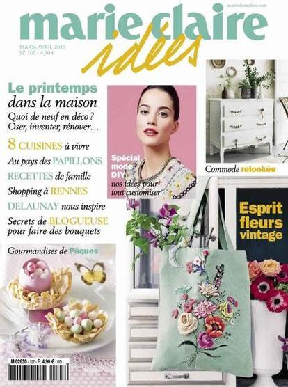 Marie Claire Idées N°107 – Mars-Avril 2015