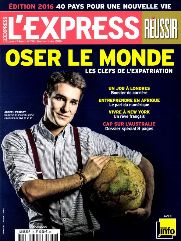 L'Express Réussir N°36 – Février-Mars 2016
