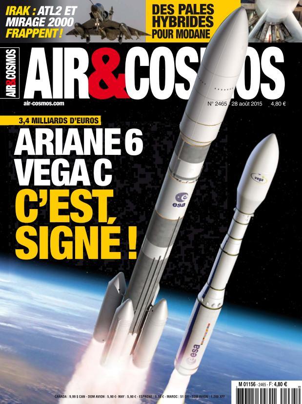 Air et Cosmos N°2465 Du 28 Aout 2015