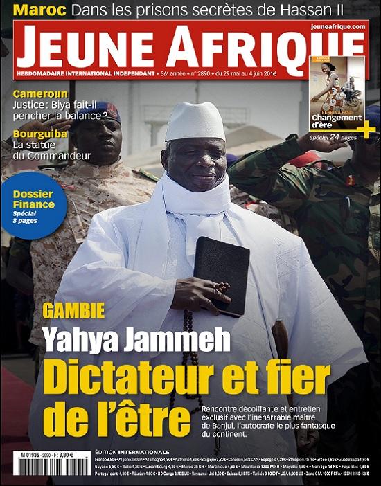 Jeune Afrique N°2890 Du 29 Mai 2016