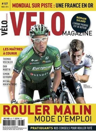 Vélo N°527 – Mars 2015