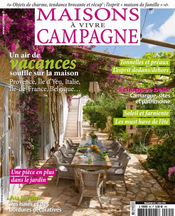 Maisons à Vivre Campagne N°85 – Juin-Juillet 2016
