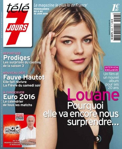 Télé 7 Jours N°2923 Du 4 au 10 Juin 2016