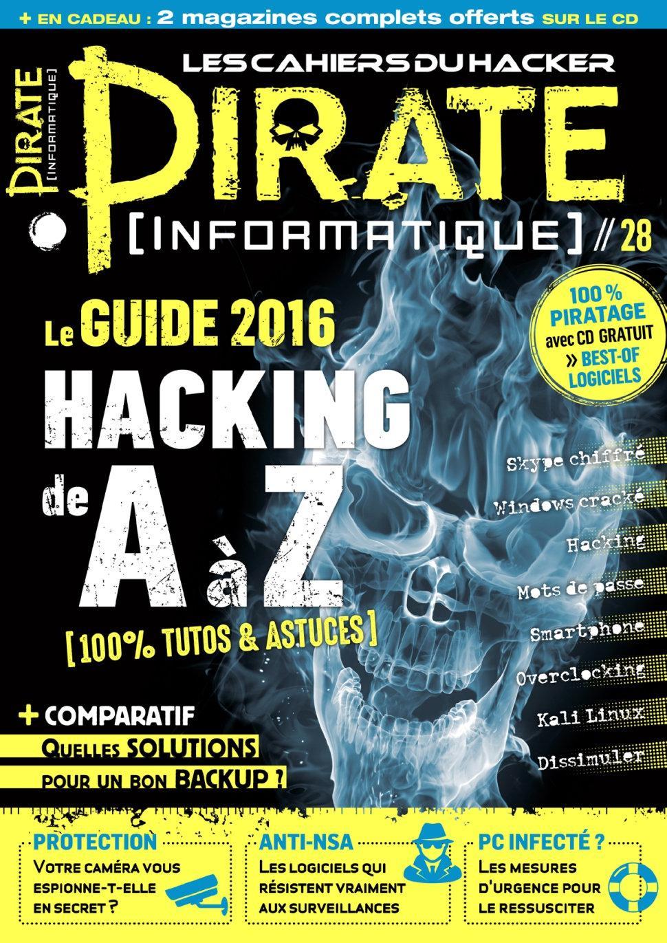 Pirate Informatique N°28 – Fevrier-Avril 2016
