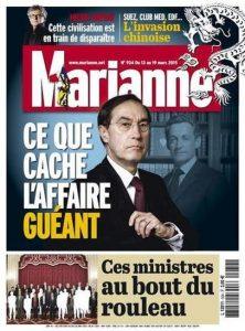 Marianne N°934 Du 13 au 19 Mars 2015