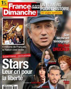 France Dimanche N°3568 Du 16 au 22 Janvier 2015